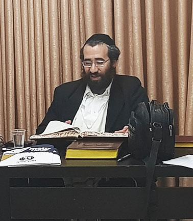 הרב רפאל פאלוך ממכון עלייה