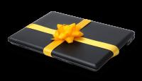 מחשב נייד במתנה