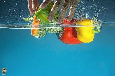 שטיפת פירות וירקות
